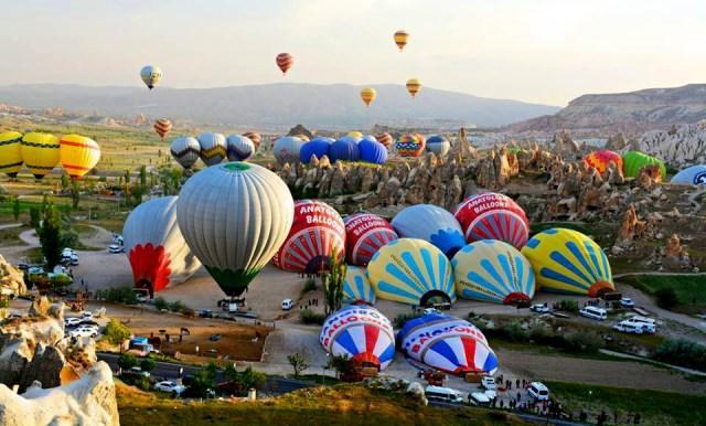 Воздушные шары – неотъемлемая часть Каппадокии