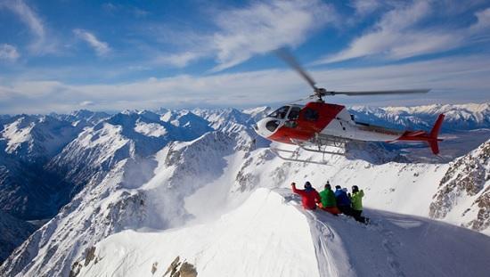 В Турции открылся сезон экстремального спорта «хели – ски»