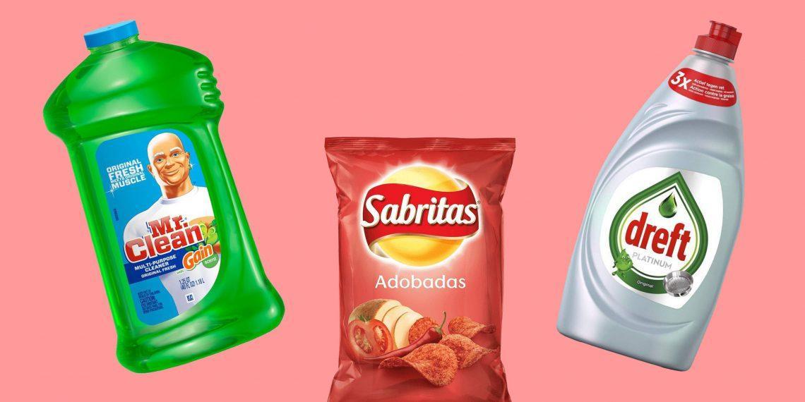 Тред: отличия названий одних и тех же товаров известных брендов в разных странах