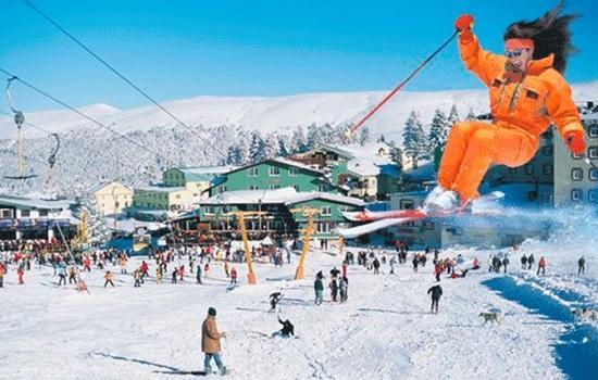 Самый популярный отдых зимой — горнолыжные курорты Турции