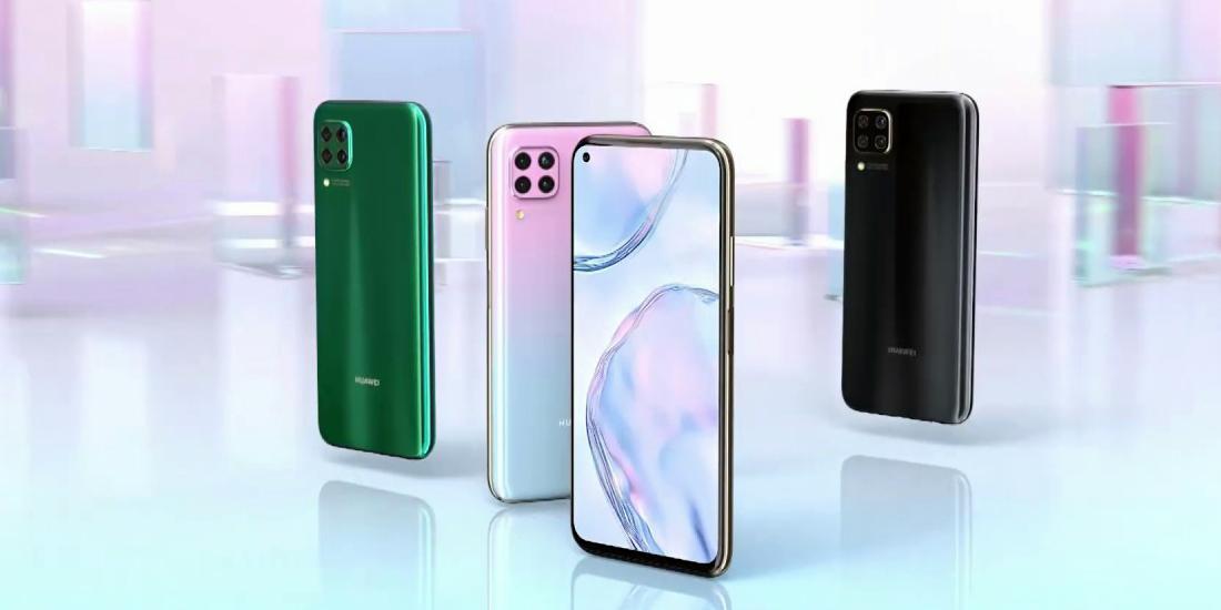 Huawei представила смартфон P40 Lite