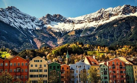 Самые красивые достопримечательности в Инсбруке, Австрия