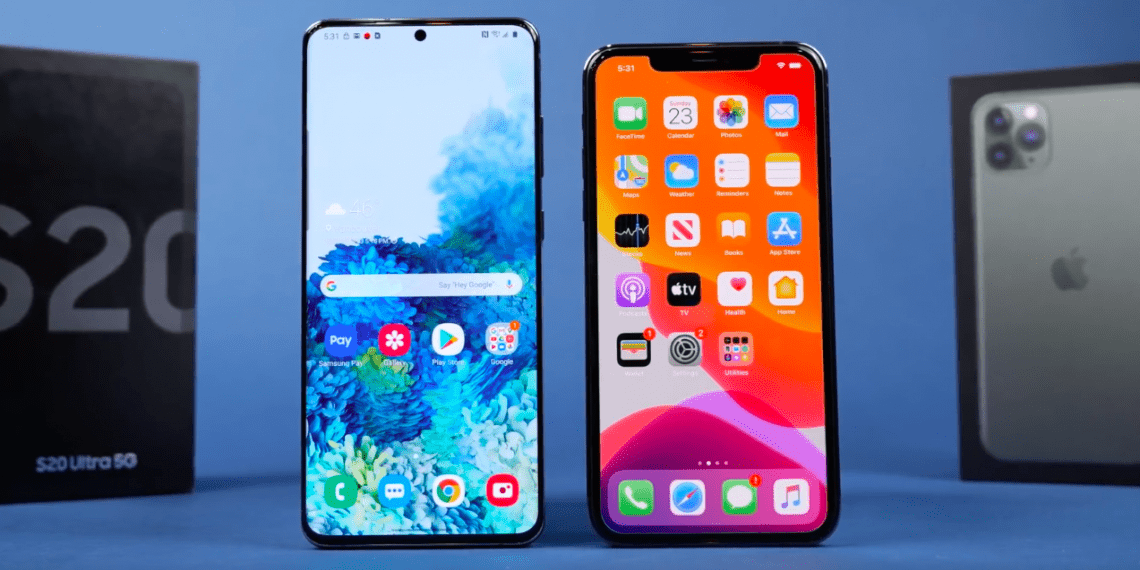 IPhone 11 Pro Max против Galaxy S20 Ultra