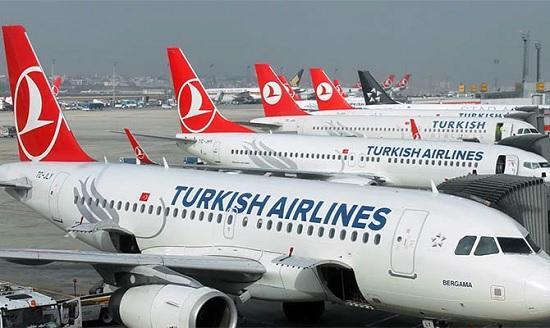 «Турецкие Авиалинии» увеличат число международных рейсов на курорты Турции
