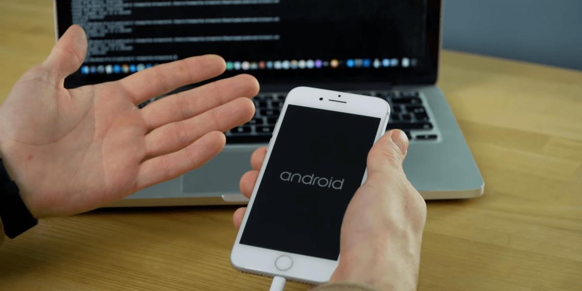 Разработчики портировали Android 10 на iPhone