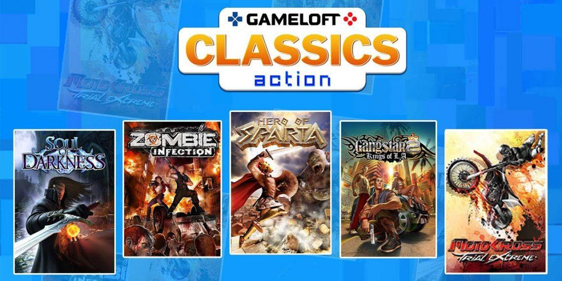 На Android вышел сборник 30 классических игр Gameloft