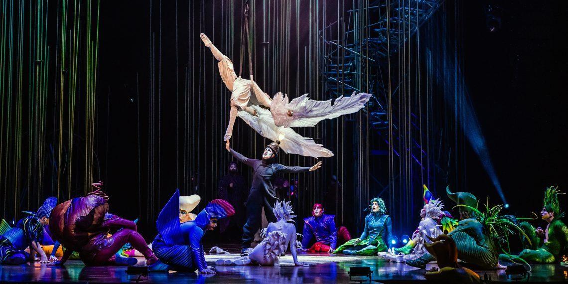 10 апреля «Цирк дю Солей» покажет выступление онлайн