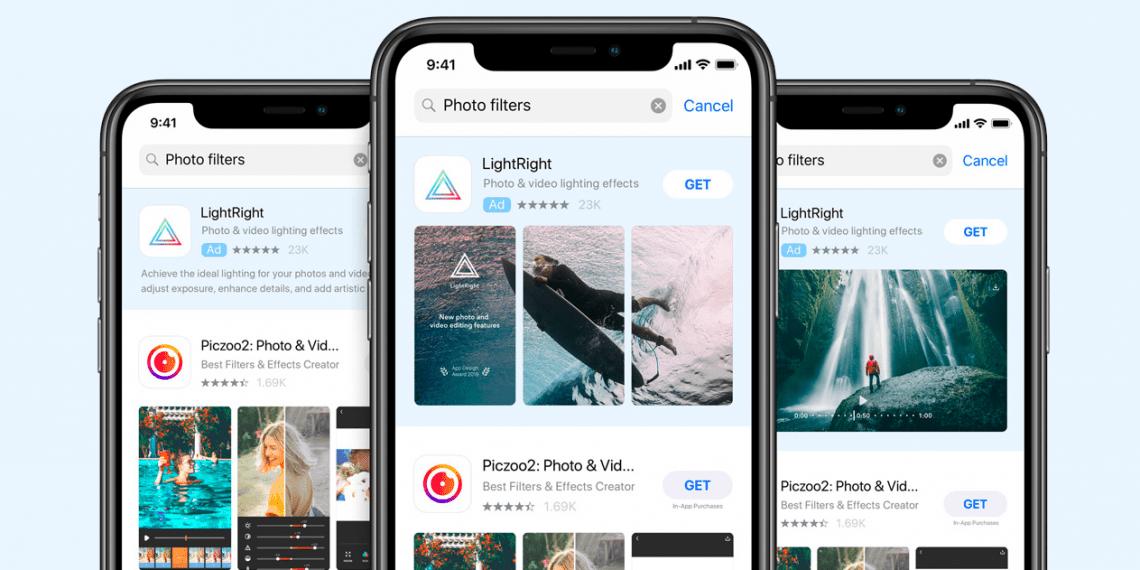 В российском App Store появится реклама в поиске
