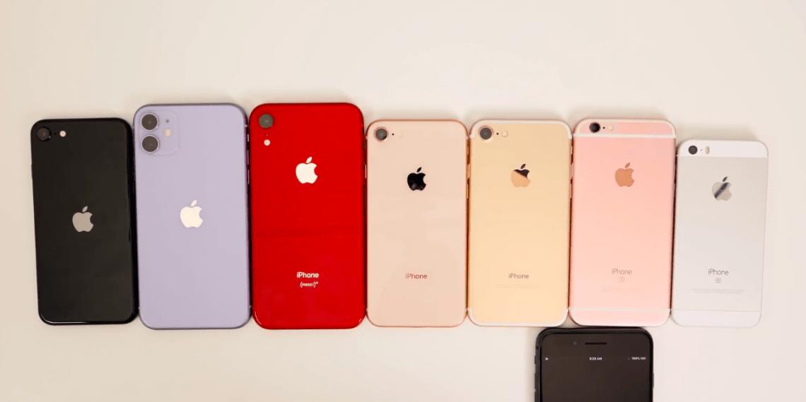 Автономность iPhone SE 2020 против старых iPhone