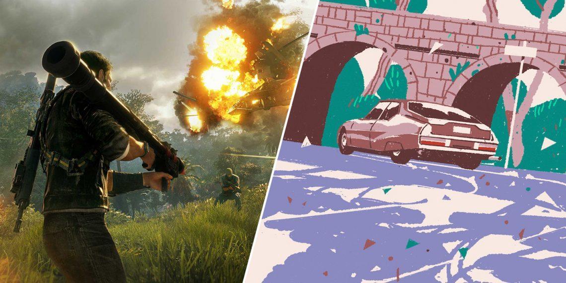 Epic Games Store раздаёт Just Cause 4 и Wheels of Aurelia