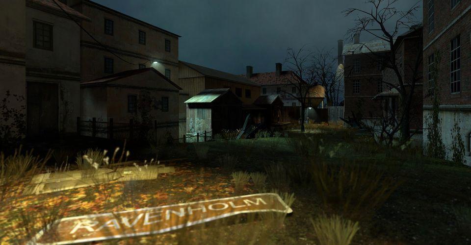 Геймплей отменённого эпизода Half-Life 2: Ravenholm