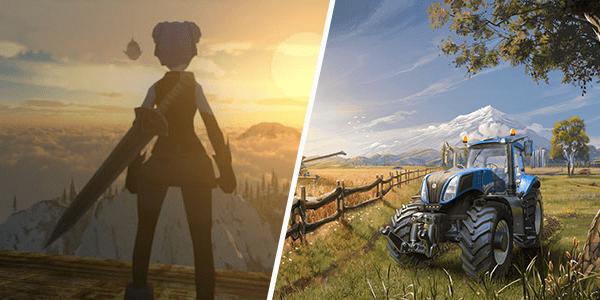 Раздача Farming Simulator 16 и Nimian Legends на iOS