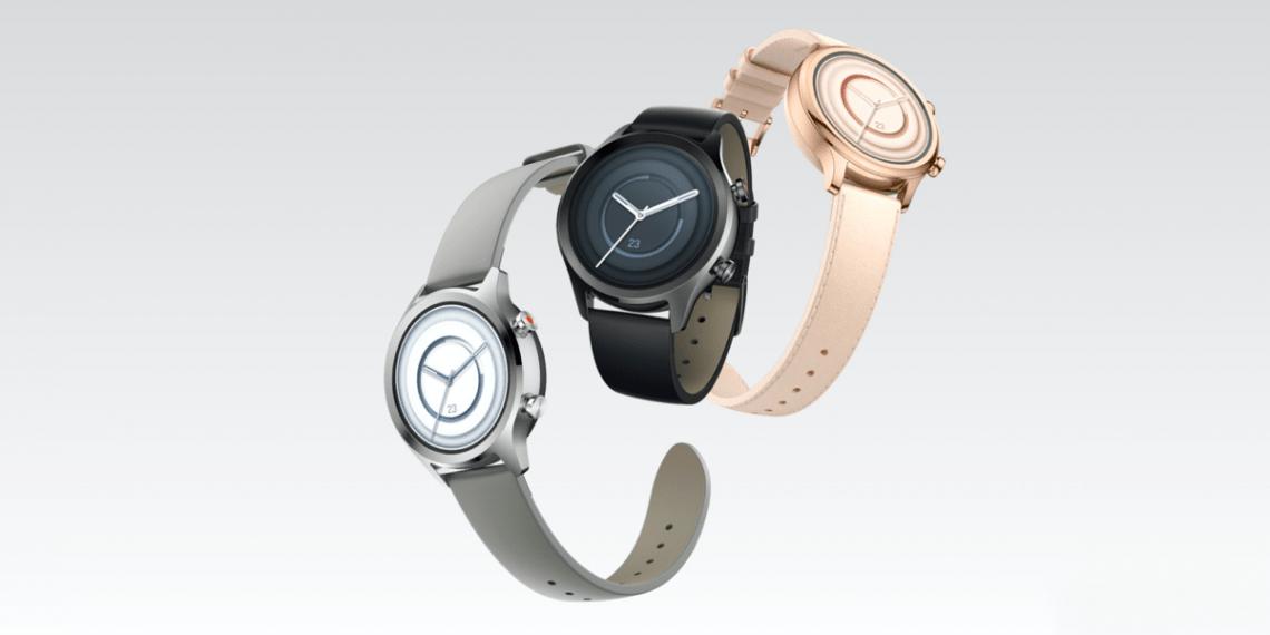 Mobvoi представила часы TicWatch C2+ на WearOS