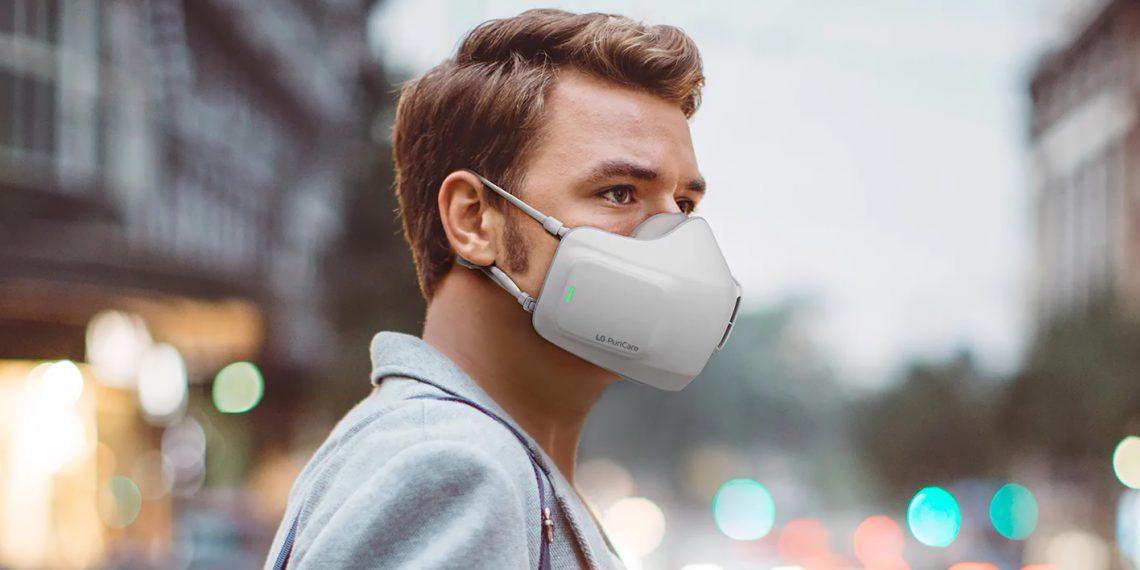 LG анонсировала маску PuriCare с фильтром HEPA