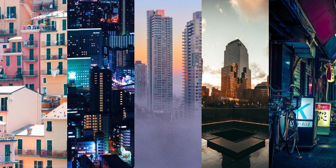15 урбанистичных фоновых картинок для ПК