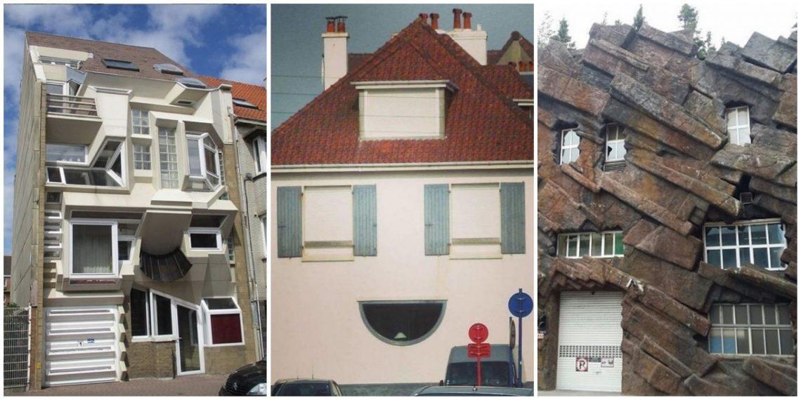 А вы точно архитектор? 20 фото очень странных домов