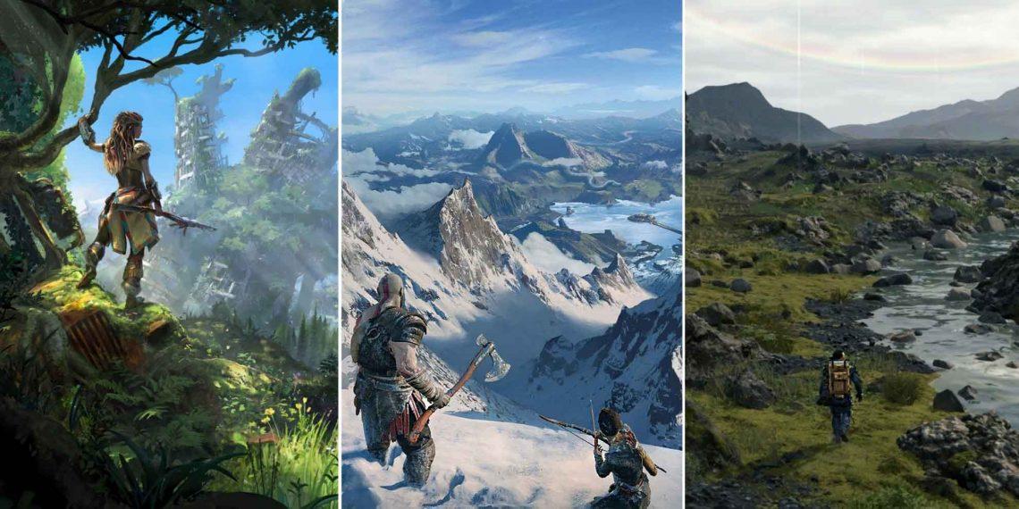 Sony опубликовала 40+ обоев из игр для PlayStation