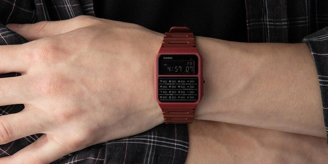 Штука дня: ретро-часы Casio CA-53WF с калькулятором