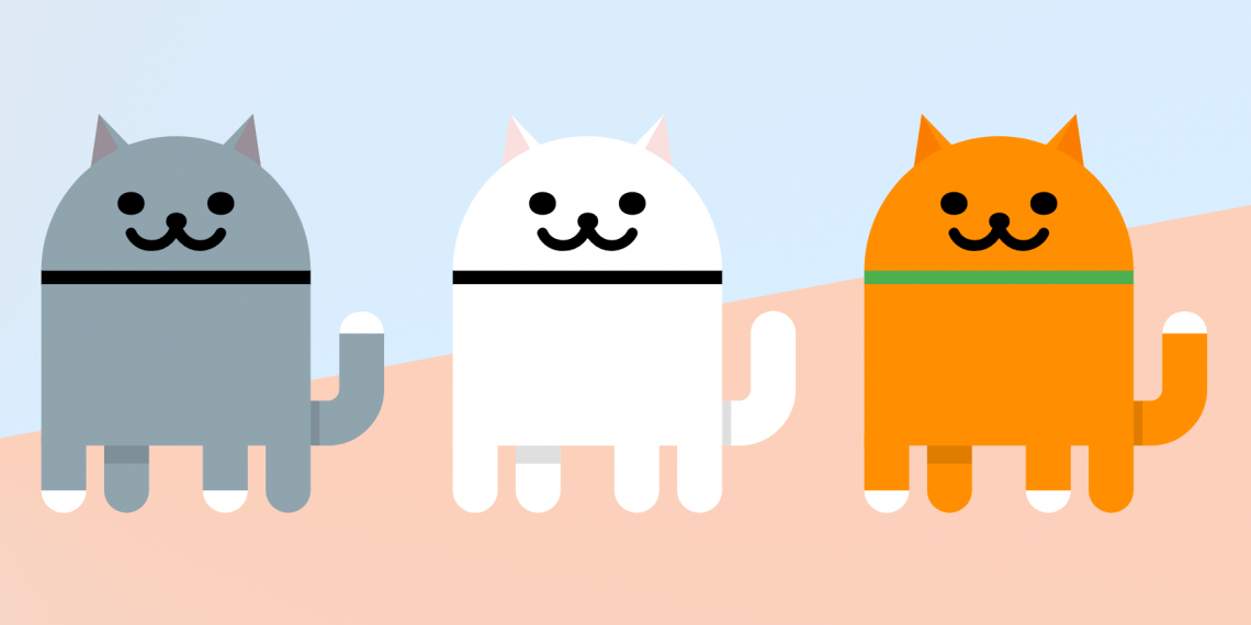 Скрытая игра Android 11 с котиками