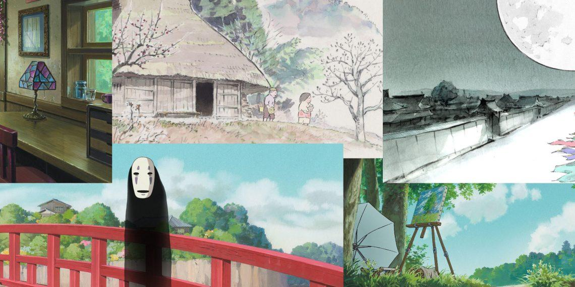 400+ обоев для ПК от студии Ghibli