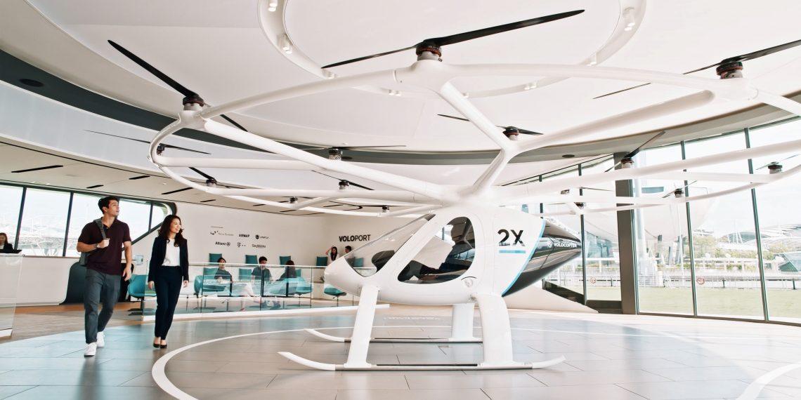 Сколько будет стоить полёт на воздушном такси Volocopter