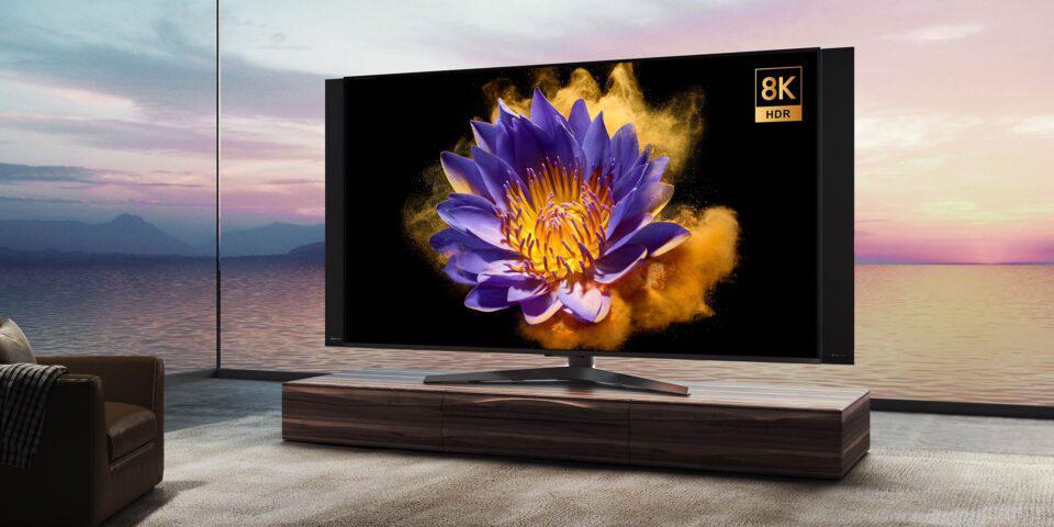 Xiaomi представила 82-дюймовый 8K-телевизор