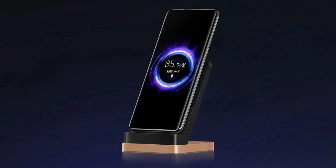 Xiaomi анонсировала беспроводную зарядку на 80 Вт