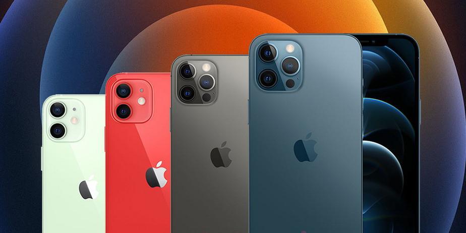 Сравнение характеристик четырёх моделей iPhone 12