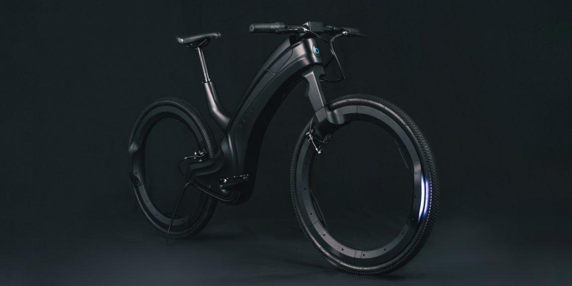Reevo — электрический велосипед с колёсами без спиц