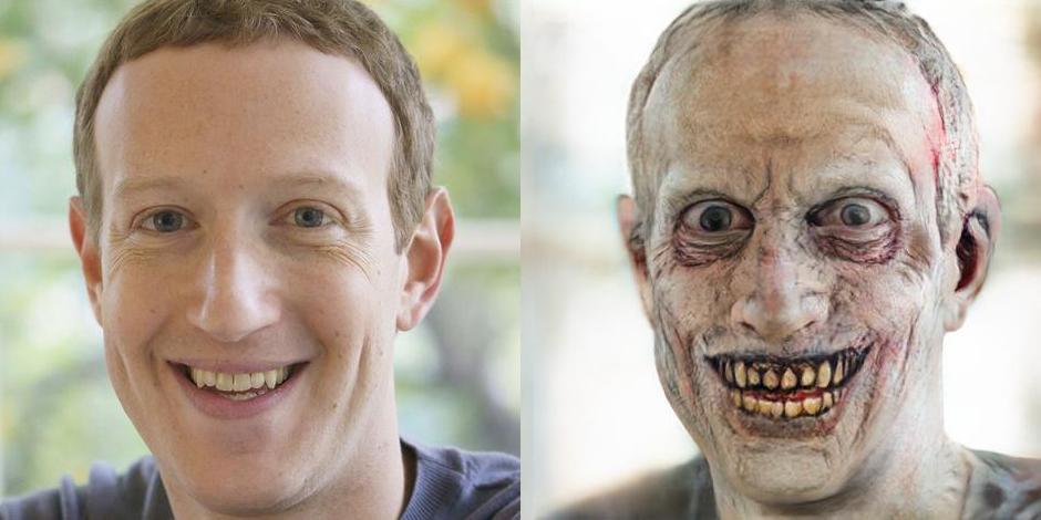 Make Me A Zombie — сайт, который превратит вас в зомби