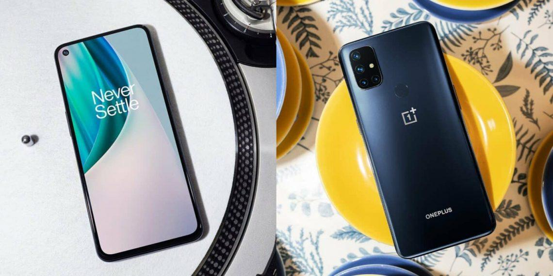 OnePlus представила Nord N10 5G и Nord N100