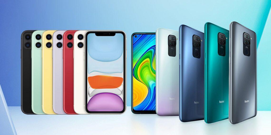 Xiaomi опередила Apple по продажам смартфонов
