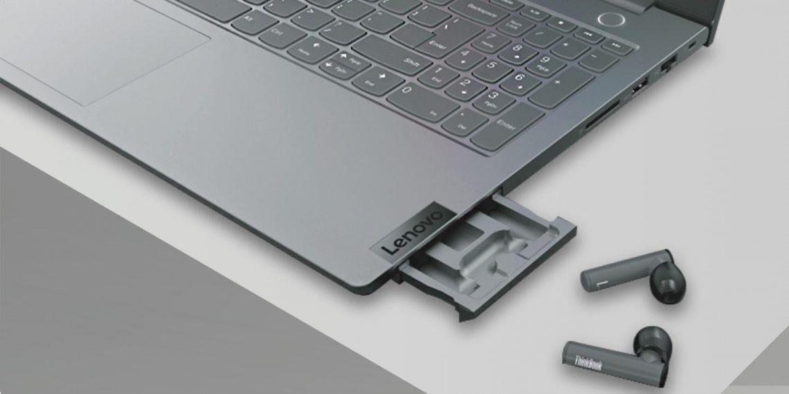 Lenovo представила ноутбук со встроенными наушниками