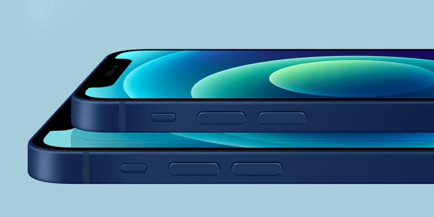 Ёмкость аккумуляторов iPhone 12 и iPhone 12 mini