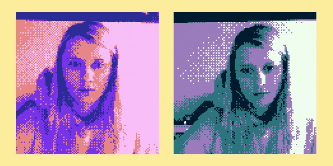 Сервис делает фотографии в стиле камеры Game Boy