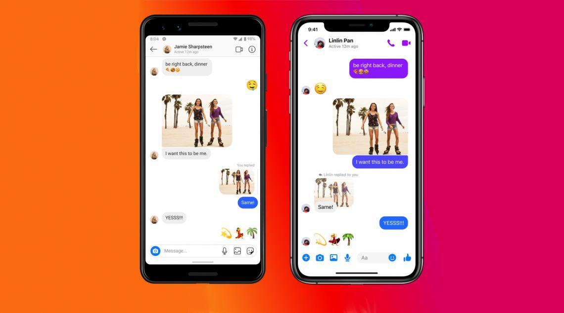Facebook объединил чаты Instagram и Messenger, а также добавил самоудаляемые сообщения
