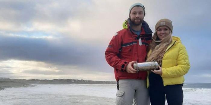 У берегов Ирландии нашли российскую капсулу времени