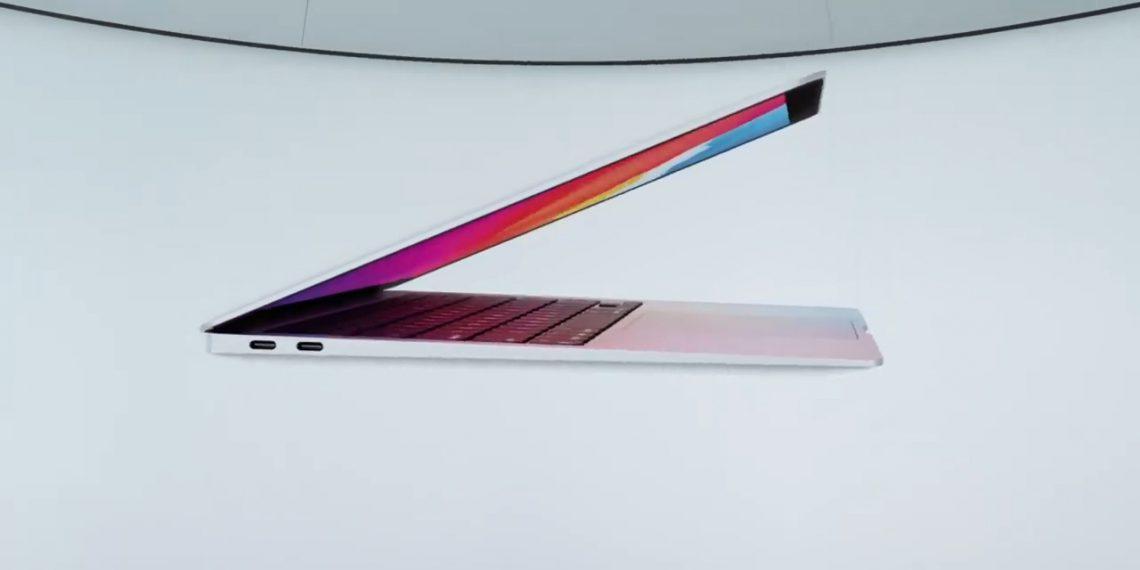 Apple представила первый MacBook Air с фирменным процессором M1