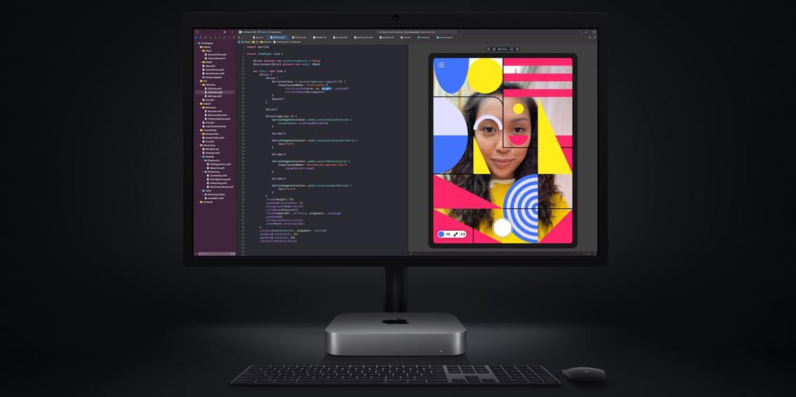 Apple представила обновлённый Mac mini (2020)