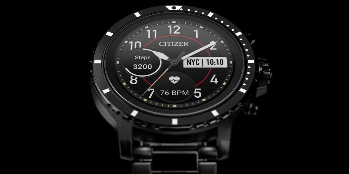 Citizen представила часы CZ Smart на Wear OS