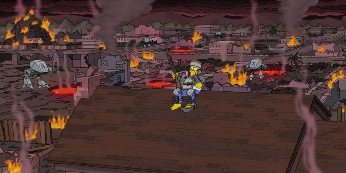 В новом выпуске «Симпсонов» показали 2021 год