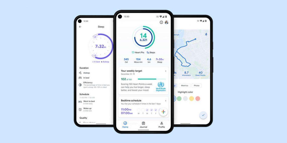 Google выпускает обновление Wear OS и Google Fit