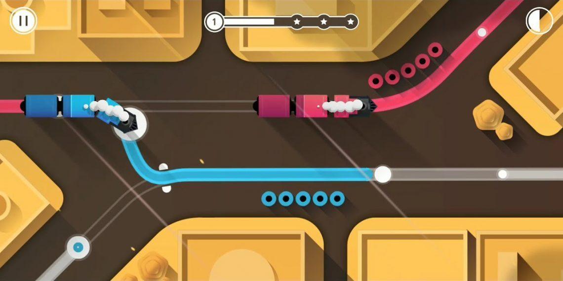 В Google Play и App Store раздают отличную головоломку Railways