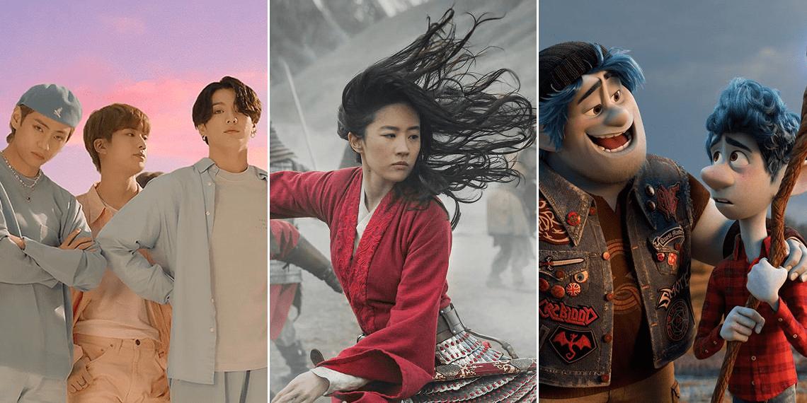 Лучшие фильмы, сериалы и музыка 2020 года по версии People