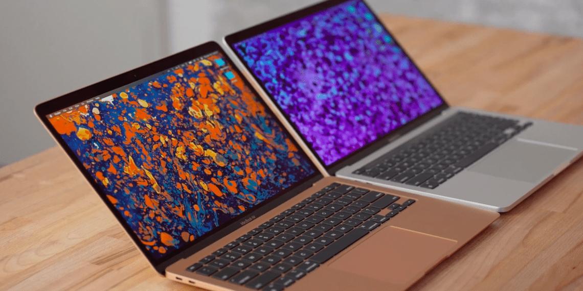 Полное сравнение MacBook Air и Pro с процессором M1