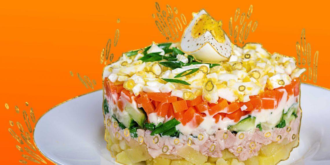 10 вкусных салатов из печени трески
