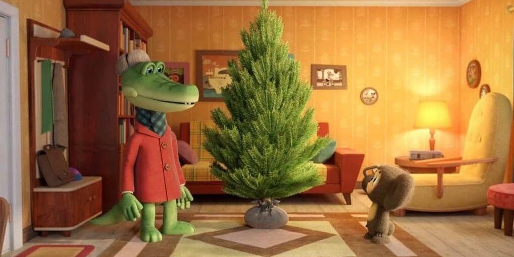 «Союзмультфильм» выпустит новогоднюю короткометражку про Чебурашку и Крокодила Гену