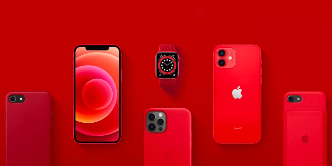 Доходы с красной техники Apple идут на борьбу с COVID-19