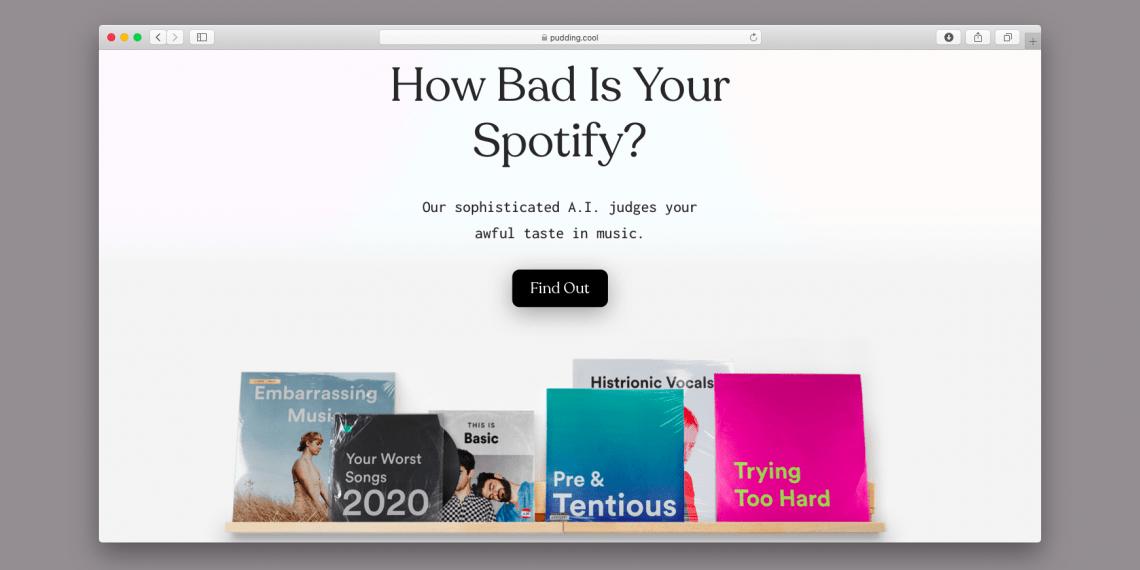 Бот высмеивает музыкальный вкус пользователей Spotify