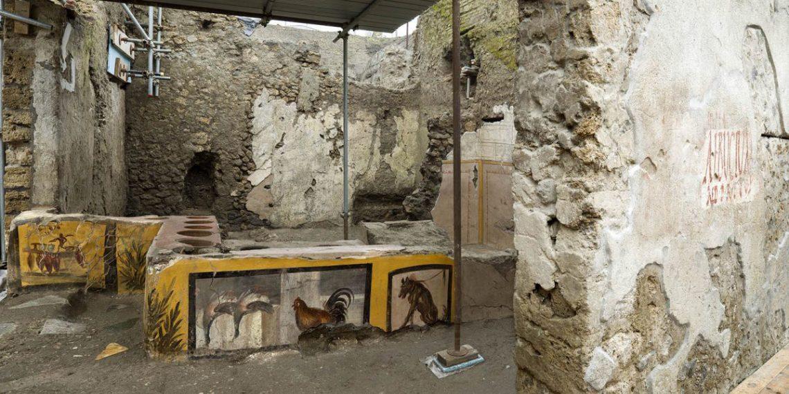 Археологи обнаружили древнеримскую закусочную